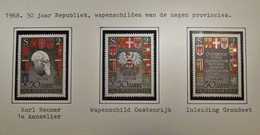 Österreich - Austriche - Austria - 1968 - 1273/75 - MNH - Postfrisch - 1961-70 Unused Stamps