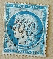 Timbre 25 Centimes Yvert Et Tellier :N° 60 GC 2602 Nantes - 1849-1850 Ceres