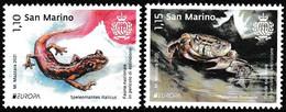 Europa Cept - 2021 - San Marino - 2.Stamps - (Wildlife) ** MNH - 2020