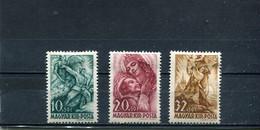 Hongrie 1940 Yt 559-561 * - Unused Stamps