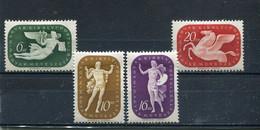 Hongrie 1940 Yt 562-565 * - Unused Stamps