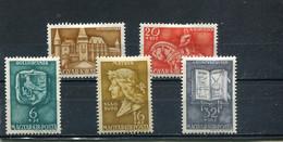 Hongrie 1940 Yt 553-557 * - Unused Stamps