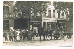 LILLE Occupation Allemande 14/18 Boulangerie L'independante Carte Photo - Lille