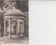 69 FONTAINES SUR SAONE  - Chateau Du Désert  -  Un Coin Du Parc  - - Other Municipalities