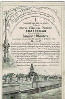 TAMISE / TEMSE - Marie BRAECKMAN  +1871 - Echtg. Auguste WAUTERS -  (Lithoo Kerk En Omgeving Temse) - Devotion Images