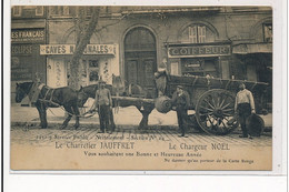 MARSEILLE : Le Charretier Jauffret Le Chargeur Noel Vous Souhaitent Une Bonne Et Heureuse Année - Tres Bon Etat - Other