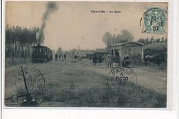 CHALLES - La Gare - état - Andere Gemeenten