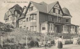 Duinbergen - Hôtel Du Châlet - Vue Animée - 2 Scans - Knokke