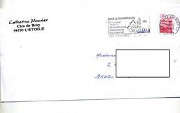 Lettre Flamme Lons Le Saunier Jura Semaine Cyclotourisme Theme Velo - Mechanical Postmarks (Advertisement)