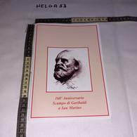 PP111 VELLETRI 2009 TIMBRO ANNULLO 160'' ANNIVERSARIO BATTAGLIA DI VELLETRI GARIBALDI FOLDER CON 1 BUSTA - 2001-10: Storia Postale