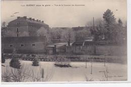 GUERET : Sous Le Givre - Vue De La Caserne Des Augustines - Très Bon état - Guéret