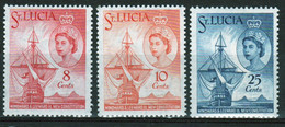 St Lucia 1960 Set Of Stamps To Celebrate New Constitution In Mounted Mint - St.Lucia (...-1978)