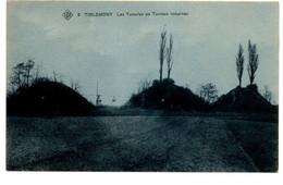 Tirlemont/Tienen - SBP - Carte Bleue - N°5 - Les Tumulus Ou Tombes Romaines - 2 Scans - Tienen