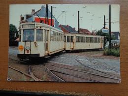 TRAM / Motrice S9109, La Seule Avec Prise De Courant Par Perches, Avec Remorque Cureghem, à Strombeek Bever 1978 - Grimbergen