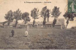 CREPY-en-LAONNOIS : Sucrerie - Tres Bon Etat - Other Municipalities
