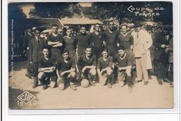 PONTARLIER : Coupe De France, Football, Club Athletique De Pontarlier, Paris - Tres Bon Etat - Otros Municipios