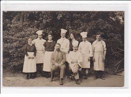 LAMALOU : Carte Photo Du Personnel Du Grand Hotel Des Thermes En 1925 - Très Bon état - Lamalou Les Bains