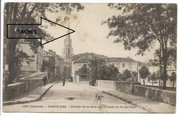 CPA 16 CHARENTE / 1506 CONFOLENS ENTRE DE LA VILLE SUR LA ROUTE DE ST GERMAIN - Confolens
