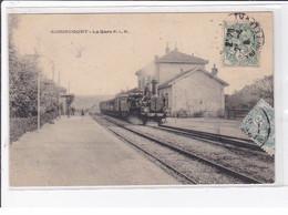 AUDINCOURT : La Gare PLM - Très Bon état - Autres Communes