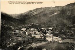 CPA Valgorge. Vue Générale (661053) - Other Municipalities