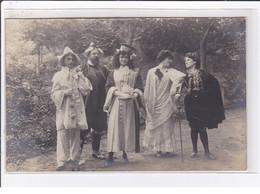 LAMALOU LES BAINS : Carte Photo (fête - Theatre) - Très Bon état - Lamalou Les Bains