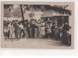 LIMOGES : Carte Photo De La Kermesse De Juillet - Comptoir Des Glaces - état - Limoges
