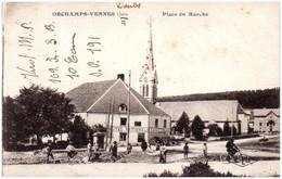 39 ORCHAMPS-VENNES - Place Du Marché - Autres Communes