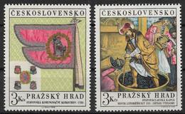 Czechoslovakia 1969 Prague Castle Art Treasures. Beautiful Set. Mi 1876-1877/Sc 1626-1627. MNH - Ongebruikt