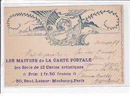 """THOMEN Raoul : """"les Maitres De La Carte Postale"""" - Avec Correspondance Cartophile Et Autographe De Georges Bans - TBE - Other Illustrators"""