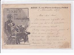 Carte Postale Illustrée - Société Des Iconophiles (autographe D'Emile STRAUSS) - Bon état - Other Illustrators