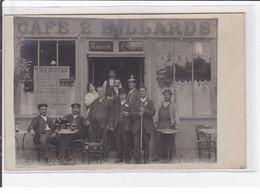 PARC SAINT MAUR : Carte Photo Du Café FORT Au 23 Quai Joséphine - état - Otros Municipios