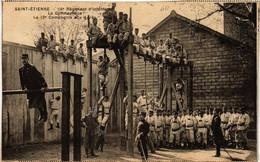 CPA St-ÉTIENNE 16e Regiment D'infanterie. La Gymnastique (665129) - Saint Etienne