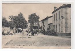 CONDRIEU : Route Nationale - La Voiture Publique Arrivant De Vienne (diligence) - état - Condrieu