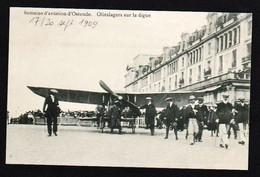 BELGIQUE, Ostende Aviation: Gros Plan Sur Le Pilote Olieslagers, Meeting Du 17 Au 20/09/1909 - Aviateurs