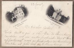 CPA 76 - LE RAIMBOURG , MONTIVILLIERS - CP 2 Vues Avec CANTELOU , Par PONT-SAINT-PIERRE ( Château ) - Andere Gemeenten