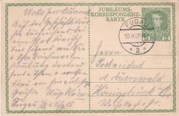 Austria Österreich AUTRICHE 1908 KAISER FRANZ JOSEF - Jubiläumskarte 1908 - Interi Postali