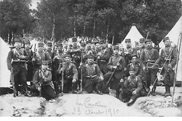 LA COURTINE - 23 Août 1910 - Très Bon état - La Courtine