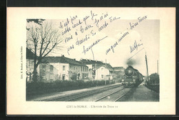 CPA Ciry-le-Noble, L'Arrivée Du Train II - Sin Clasificación