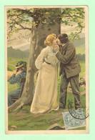 R131 - Illustration Signée MAILICK - Couple, Amoureux - Mailick, Alfred