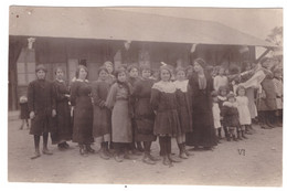 CASABLANCA - Groupe De Jeunes Filles  (carte Photo Animée) - School
