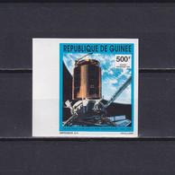 GUINEA 1992, Mi# 1400B, Part Set, Imperf, Space, MNH - Guinea (1958-...)