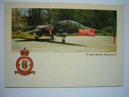 Avion / Airplane / BELGIAN AIR FORCE / F-104 G Starfighter - 1946-....: Era Moderna