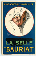 Publicité - Mich - Plus Douce Qu'un Oreiller La Selle Bauriat - Advertising
