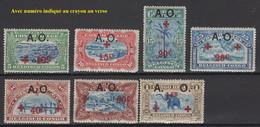 1918. Rwanda. COB N° 36/42 *, MH. Cote 2018 : 8 € - 1916-22: Mint/hinged