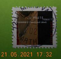 FRANCE 2021   CL005  DU CARNET  VASSILY  KANDINSKY    Cachet   ROND  ( A Voyagé ) - Gebruikt