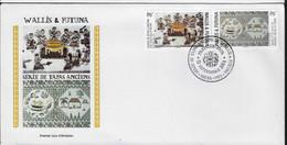 Ci20 Wallis Et Futuna FDC 2014 Tapas - FDC