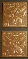 EASDALE ISLAND SCOTLAND NATURE CONSERVATION 2 STAMPS GOLD MNH - Otros