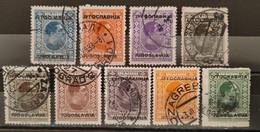 YOUGOSLAVIE - 1933 N° 243/252 O (voir Scan) - Usati