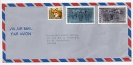 - Lettre LEVIS (Canada) Pour SURESNES (France) 1991 - Bel Affranchissement Philatélique - - Storia Postale