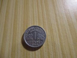 France - 1 Franc Francisque 1944 C.N°2822. - H. 1 Franc